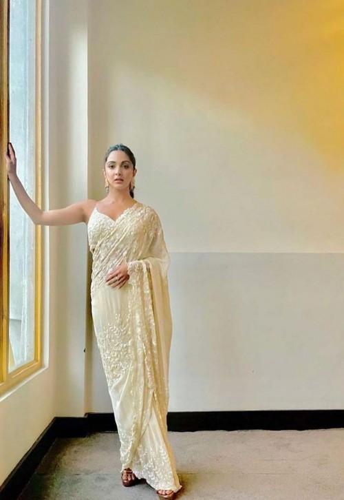 Kiara Advani's similar saree is what i want online - SeenIt