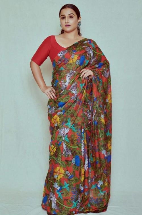 Looking for a similar outfit like Vidya Balan is seen wearing - SeenIt