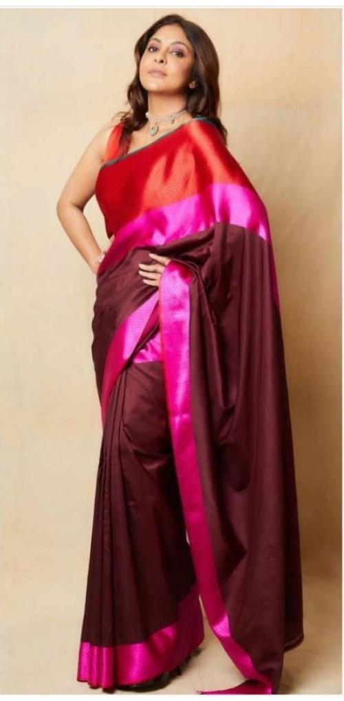 Yay or nay? Shefali Shah seen wearing a Raw mango saree - SeenIt