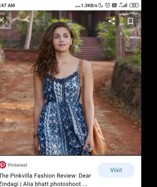 I am looking for same alia bhatt maxi dress - SeenIt