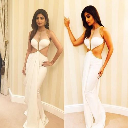 Shilpa Shetty in a Shantanu & Nikhil jumpsuit. Yay or Nay? - SeenIt