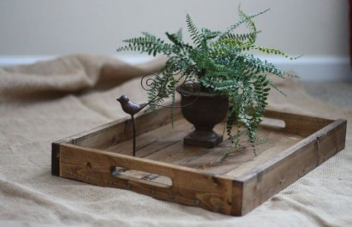 Want a small wooden tray like this one but better polished :) - SeenIt