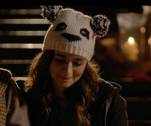 need a similar animal shape beanie hat like alia is wearing - SeenIt