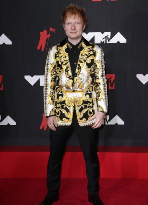 Yay or nay? Ed Sheeran attends the MTV Video Music Awards in New York City - SeenIt