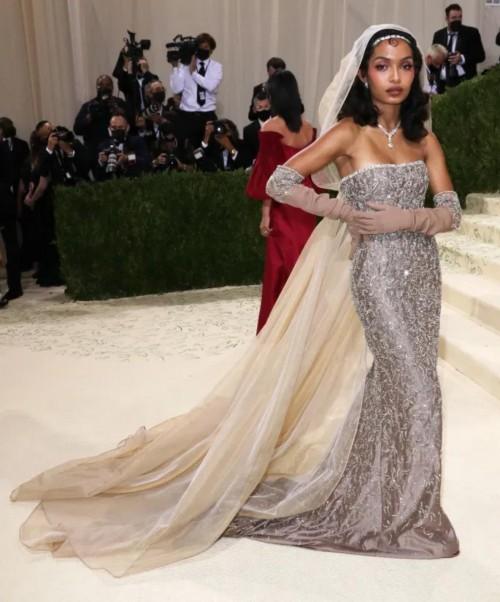 Yay or nay? Yara Shahidi attends the MetGala 2021 wearing Dior - SeenIt