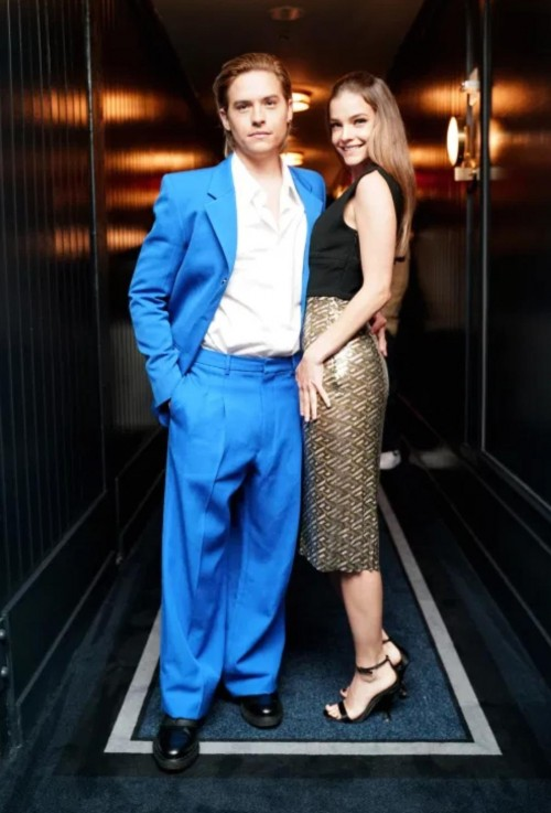 Yay or nay? Dylan Sprouse and Barbara Palvin attend the CR x Grey Goose NYFW Party at Casa Cipriani in New York City - SeenIt