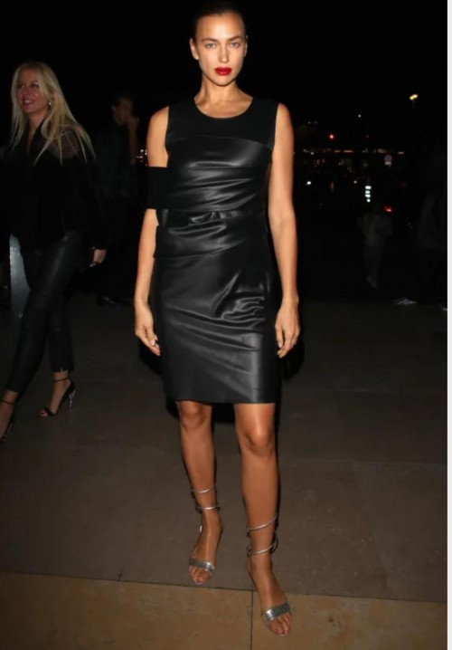 Yay or nay? Irina Shayk attends the Grey Goose x CR Fashion Book party in celebration of the Parade issue during Paris Fashion Week - SeenIt