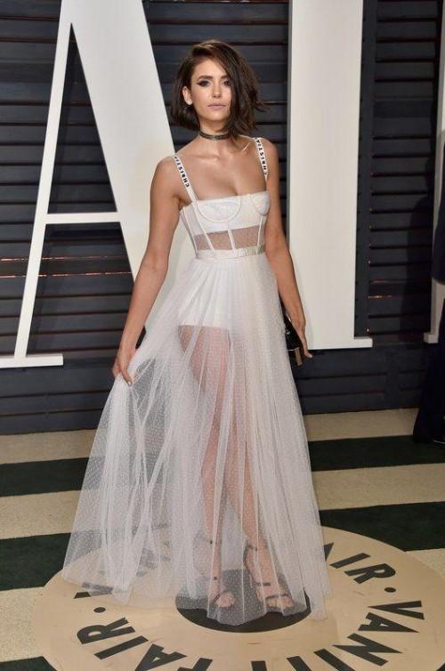 nina dobrev's terrific gown yay or nay?? - SeenIt