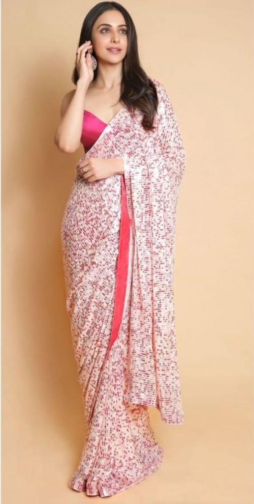 Yay or nay? Rakul Preet singh seen wearing a Manish Malhotra saree - SeenIt