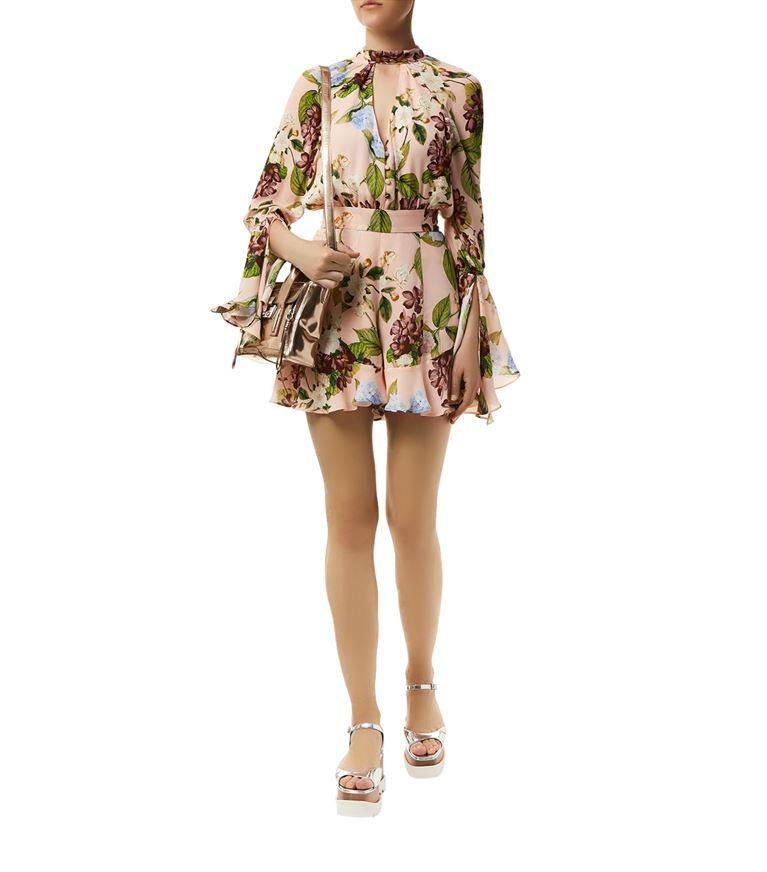9db514003b10 Nicholas Evie Floral Print Playsuit - SeenIt