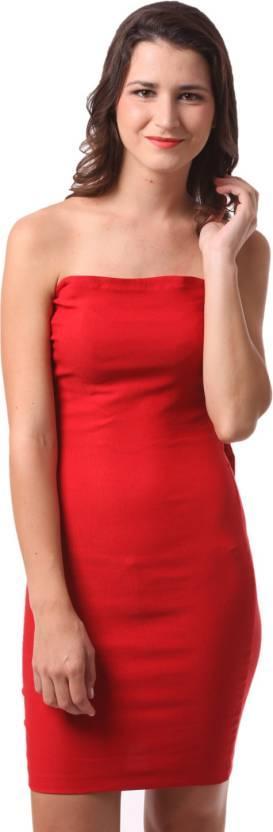 21bebebd63 Fashion Expo Womens Bandage Red Dress - SeenIt