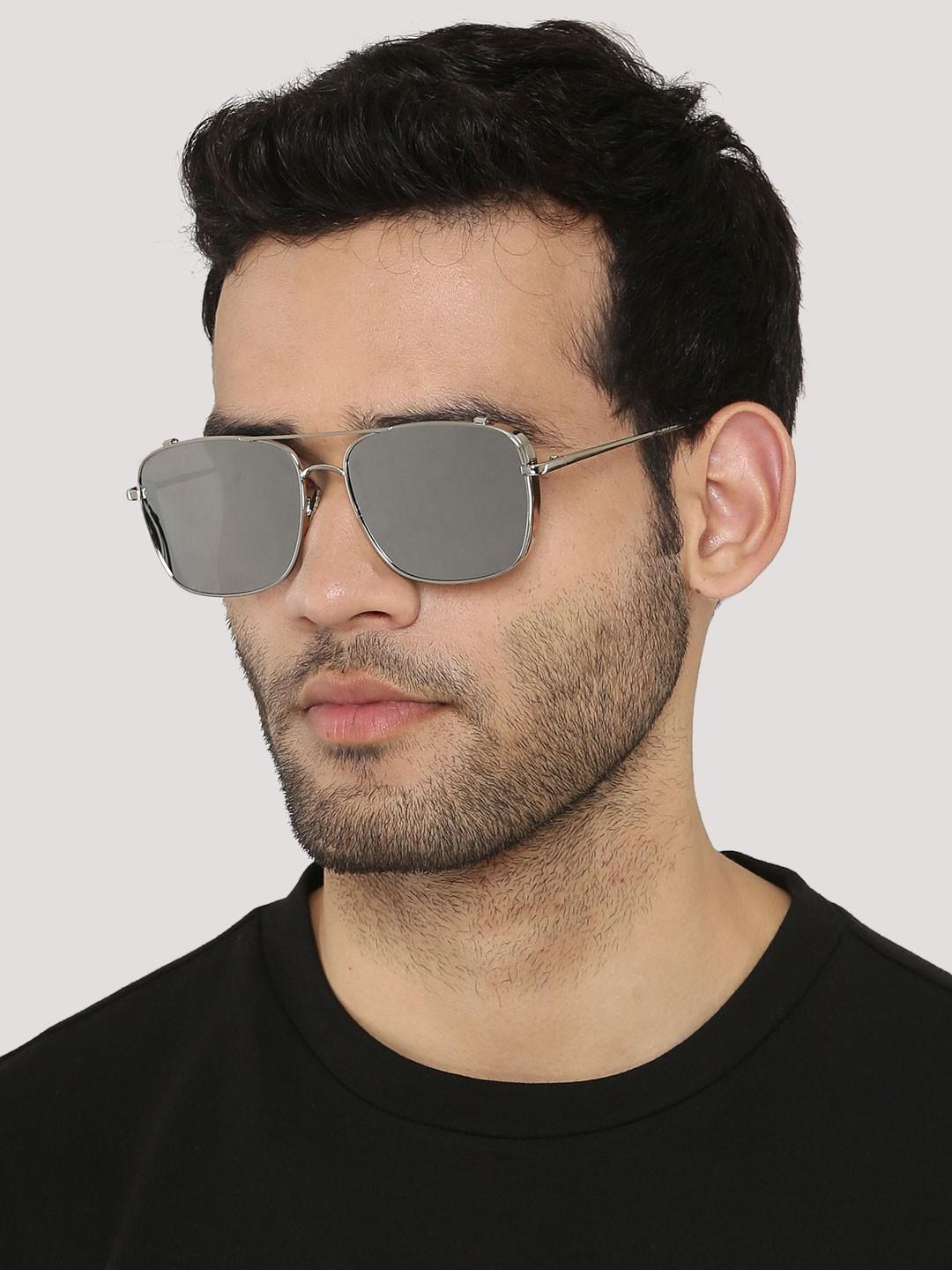 996cb7fc99945 Pilot Sunglasses With Tonal Frames And Lens - SeenIt