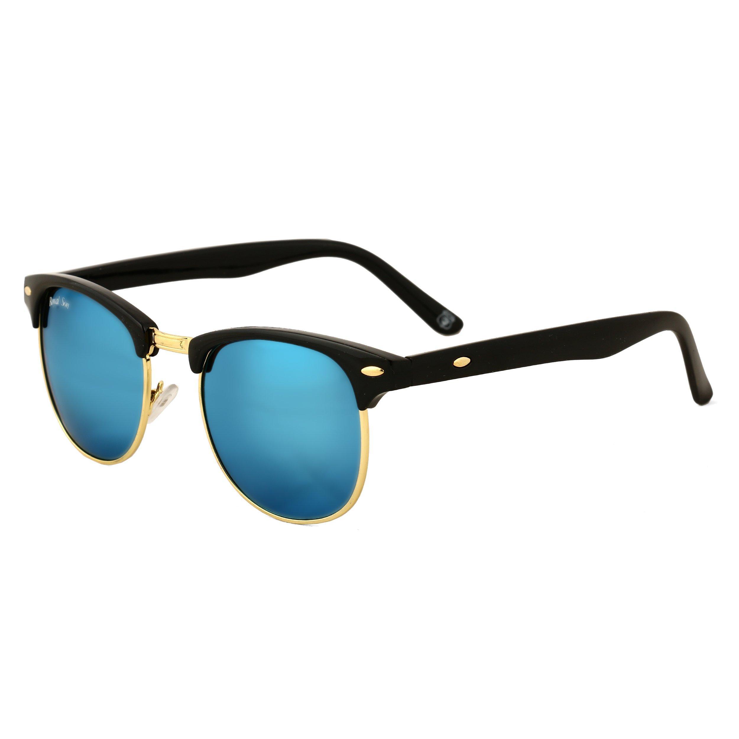 460e175f740 Clubmaster Round Unisex Sunglasses - SeenIt