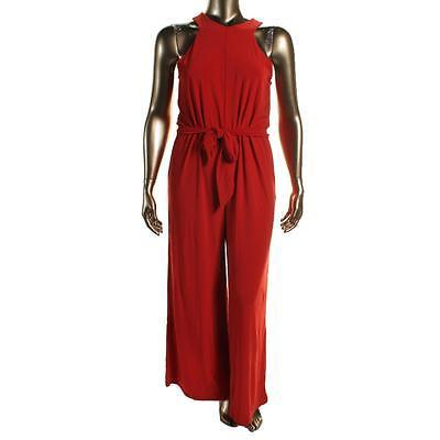 a4afd538eb Womens Red Sleeveless Jumpsuit - SeenIt