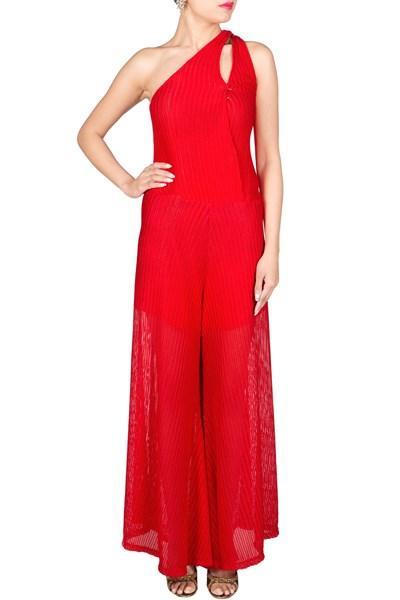 5f44520e66 Red Jumpsuit - SeenIt