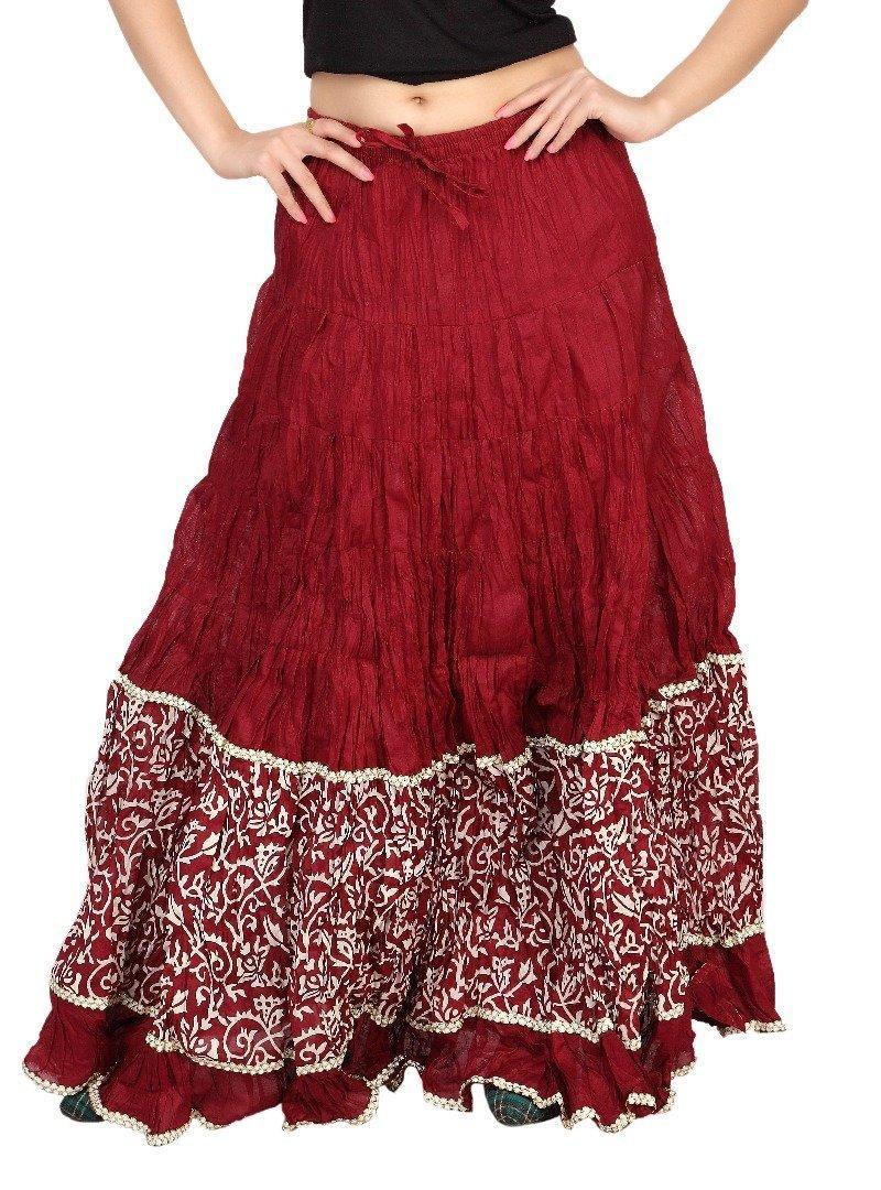 5c4a8da6d5 Carrel Printed Women Long Skirt. - SeenIt