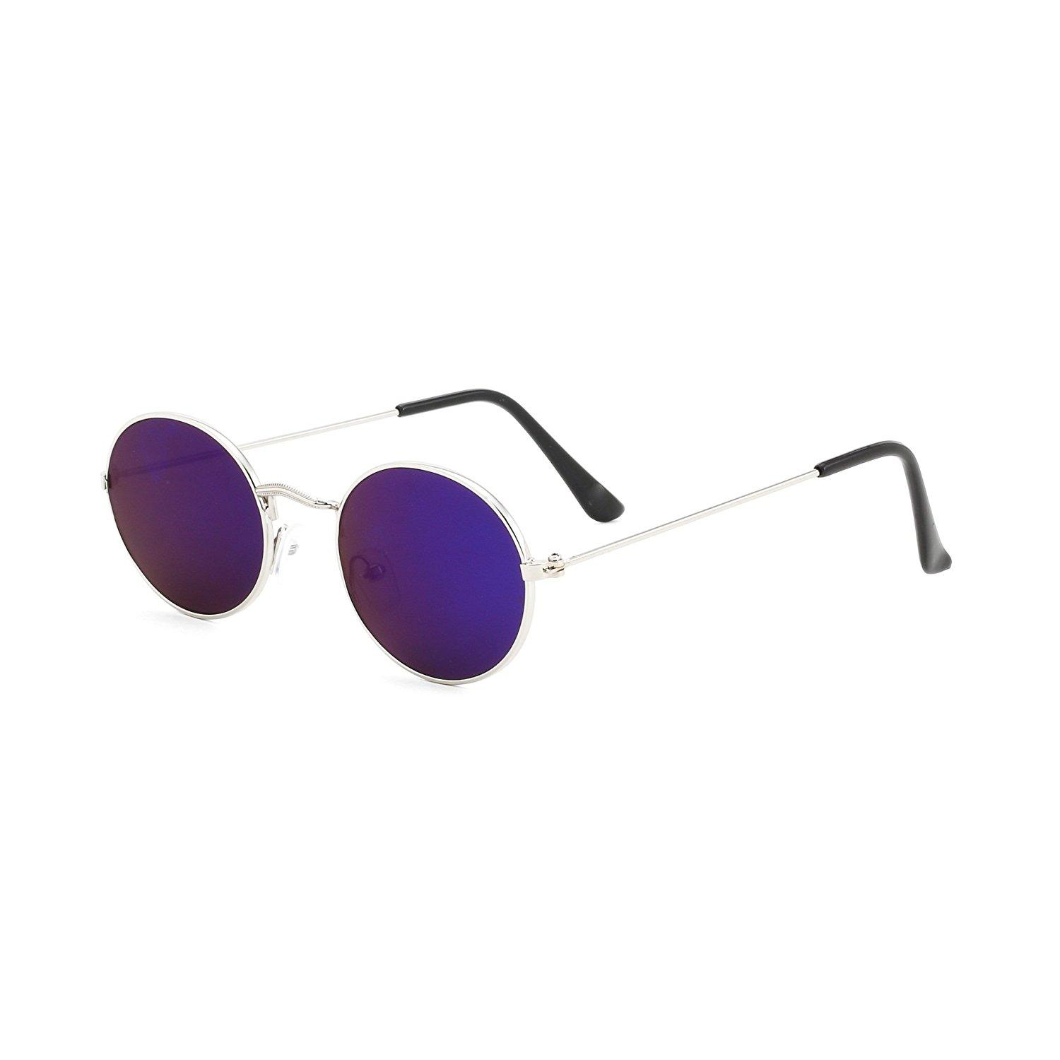 54d891cd8b Protected Round Unisex Sunglasses - SeenIt