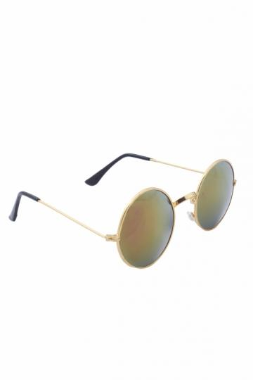 7e449cb81c Yellow Round Sunglasses - SeenIt