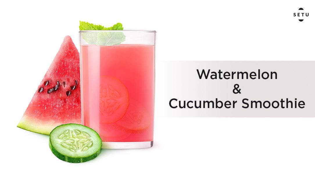 Watermelon & Cucumber Smoothie