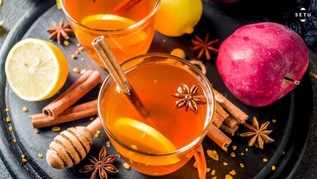 Apple Cinnamon Detox Tea