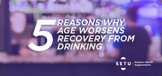 5 reasons why it's SO hard to recover from a hangover as you age