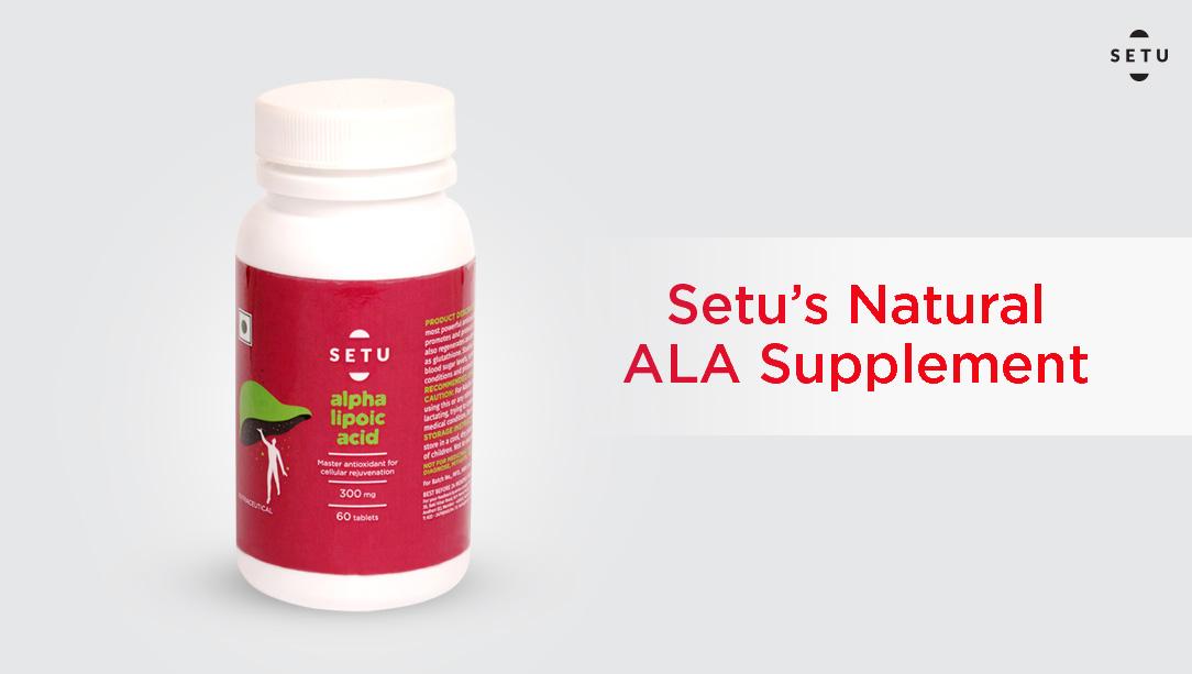 Setu's Natural ALA Supplement