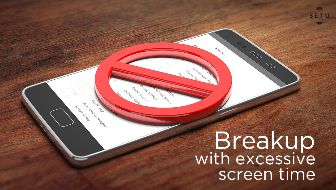 I am BREAKING UP with EXCESSIVE SCREEN TIME!