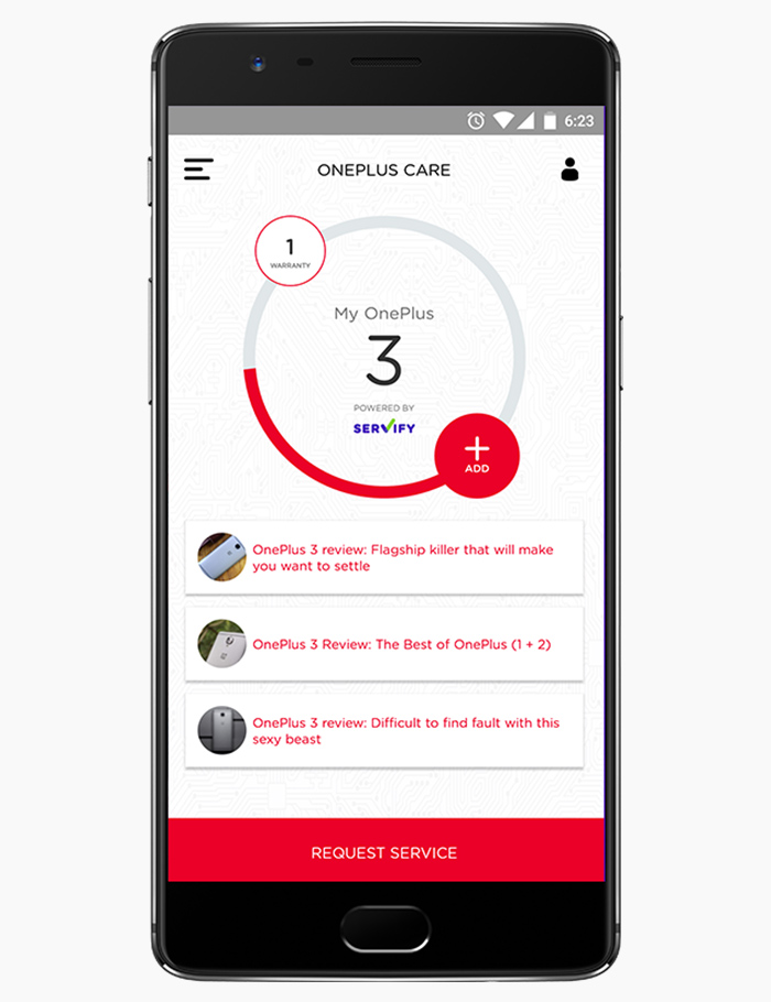 OnePlus - Servify - Your Personal Device Assistant