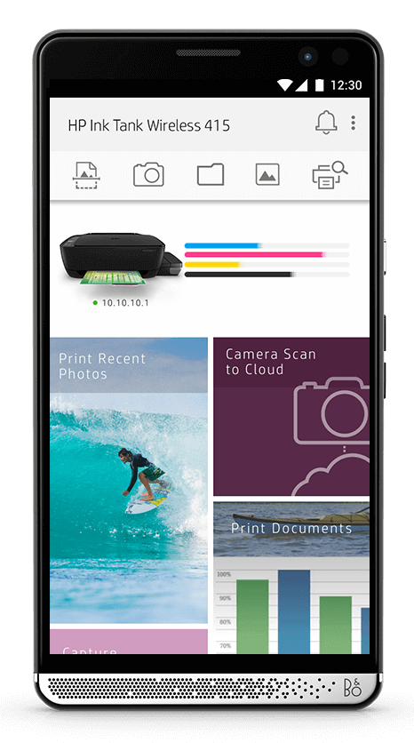 Take the stress out of setup with the HP Smart App