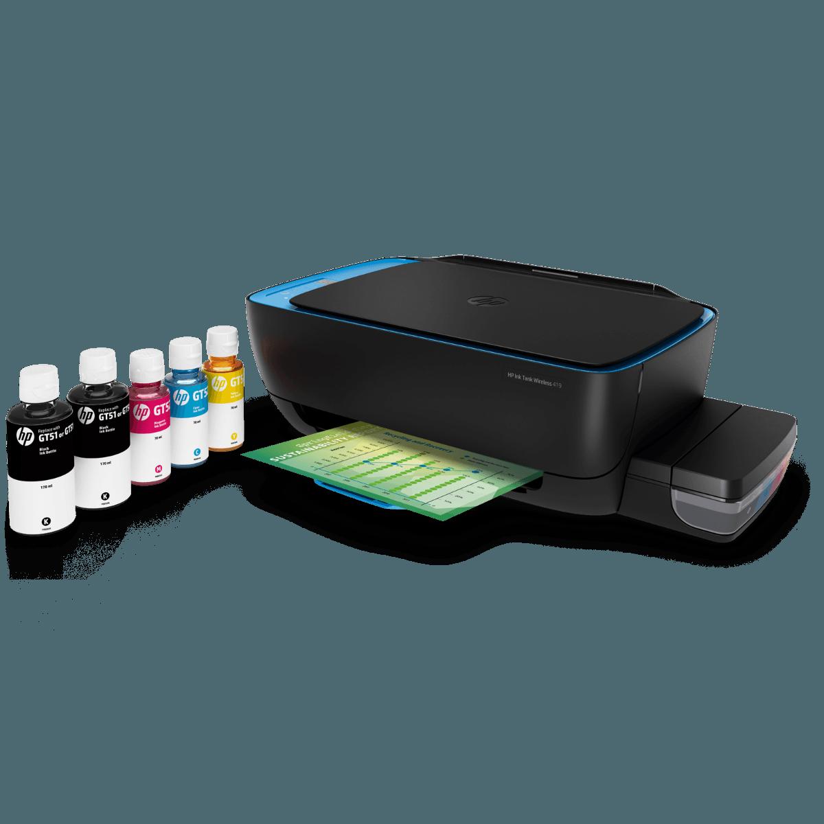 HP Ink Tank Wireless 419 All-in-One