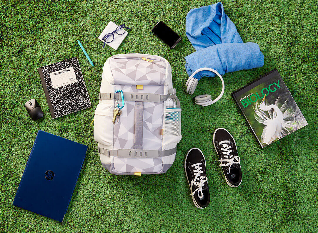 Things you can fit in backpack