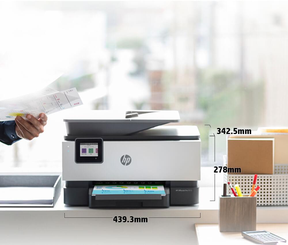 Dimensiuni mai mici decat imprimantele precedente