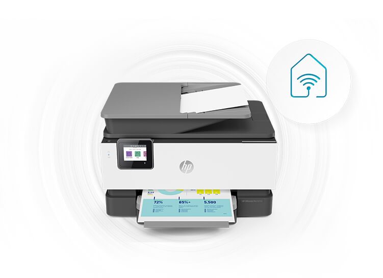 Connect to cloud-based printing with Wi-Fi™ or your cellular network to print from anywhere.
