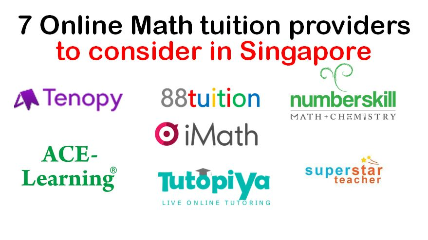 7 Online Math tuition providers to consider in Singapore