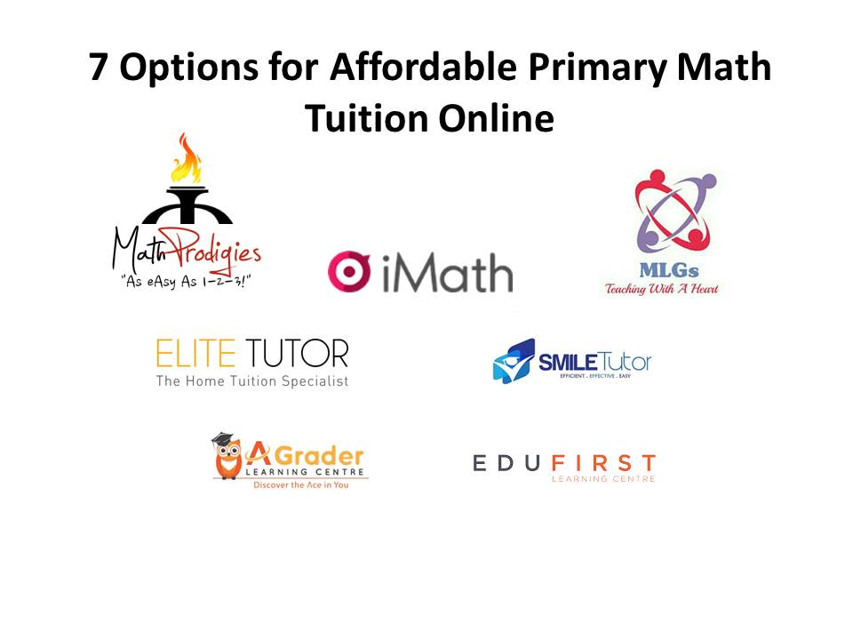 7 Options for Affordable Primary Math Tuition Online