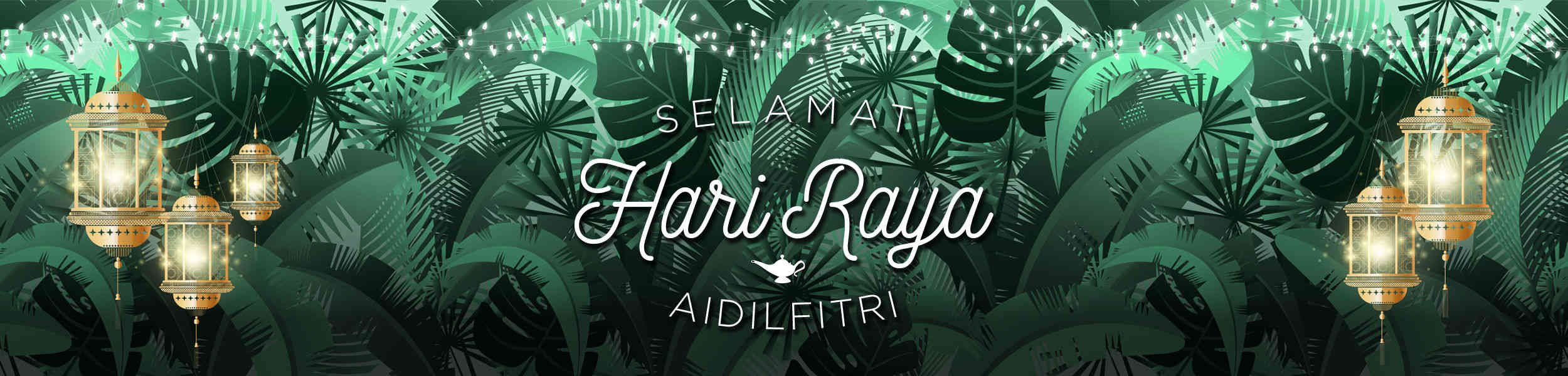 Hari Raya Greetings 2018