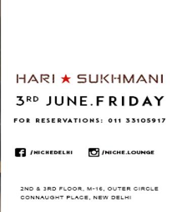 Catch Hari  Sukhmani live - Niche Cafe & lounge Bar,New Delhi