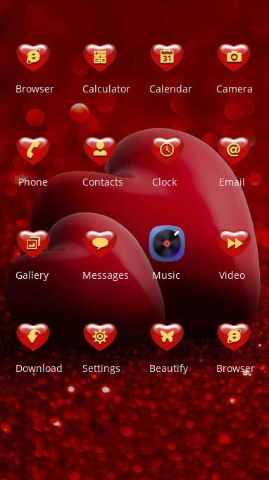 love|wallpapaer| ulauncher|theme