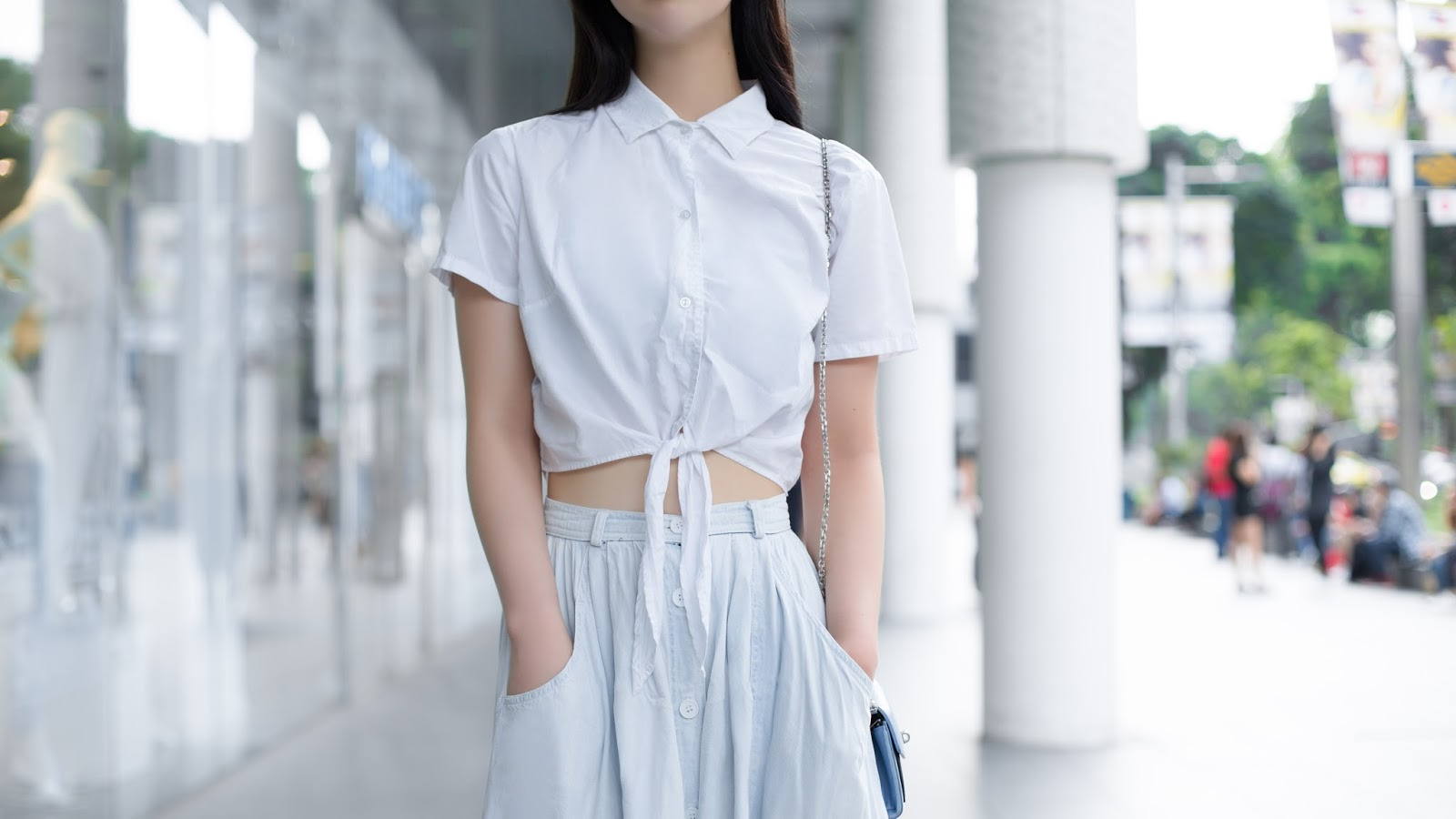 SHENTONISTA-Ren Ran-Student-Beijing-Top_American_Apparel-Skirt_American_Apparel-Bag_American_Apparel-Shoes_Beijing-080515