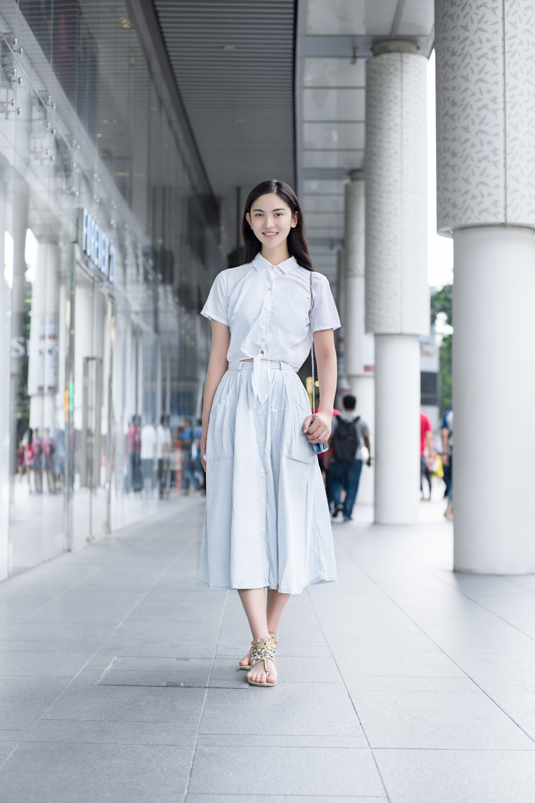 SHENTONISTA-Ren Ran-Student-Beijing-Top_American_Apparel-Skirt_American_Apparel-Bag_American_Apparel-Shoes_Beijing-080515-5