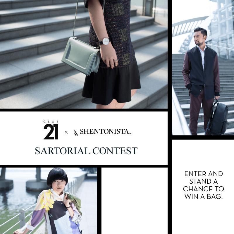 Club 21 x Shentonista Contest Visual 3.1 Phillip Lim