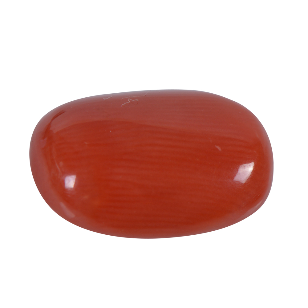 4.85 Cts Certified Natural Red Coral Loose Gemstone