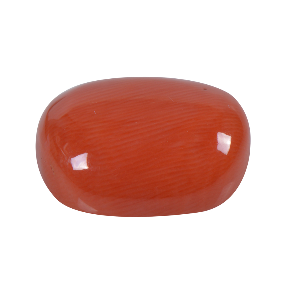 14.27 Cts Certified Natural Red Coral Loose Gemstone