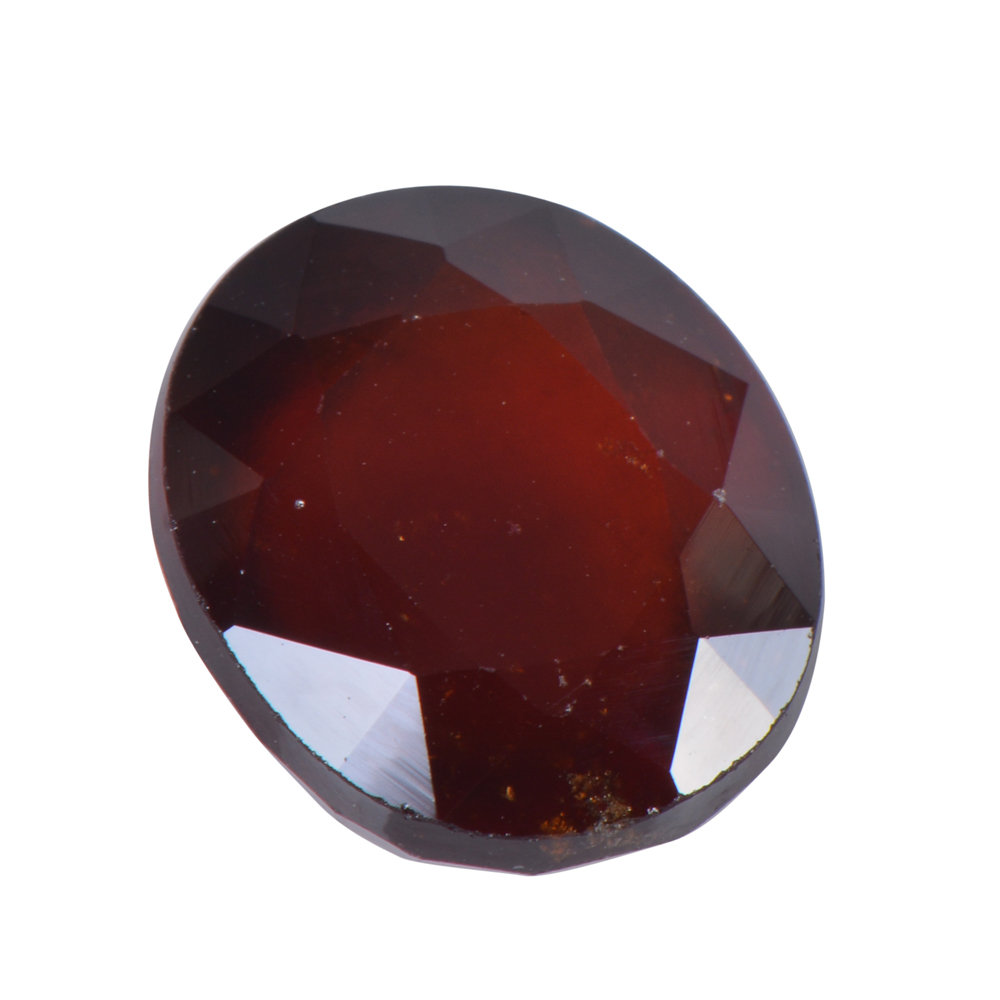 8.72 Ct Certified Natural Hessonite Garnet (Gomed) Loose Gemstone