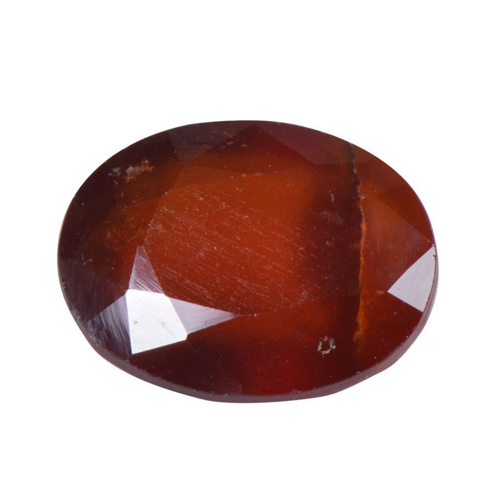 7.89 Ct Certified Natural Hessonite Garnet (Gomed) Loose Gemstone