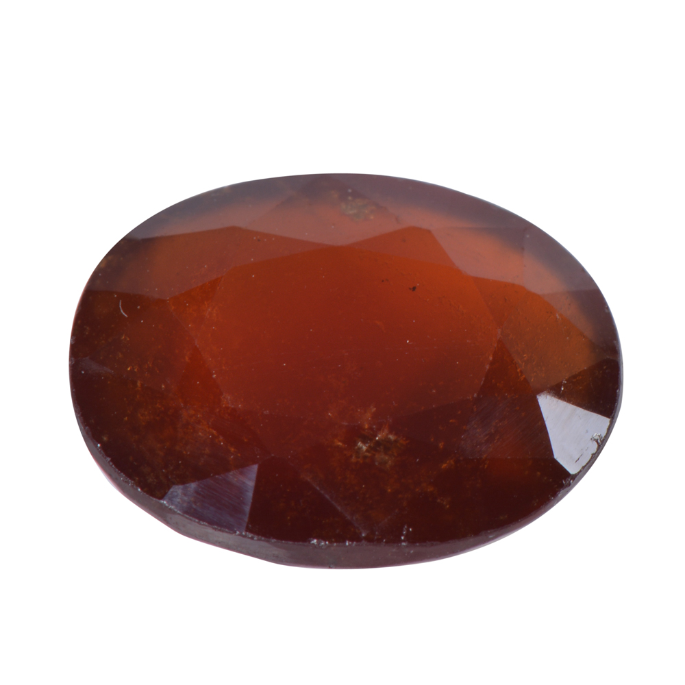 9.02 Ct Certified Natural Hessonite Garnet (Gomed) Loose Gemstone