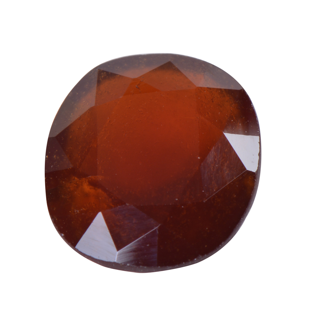 7.97 Ct Certified Natural Hessonite Garnet (Gomed) Loose Gemstone