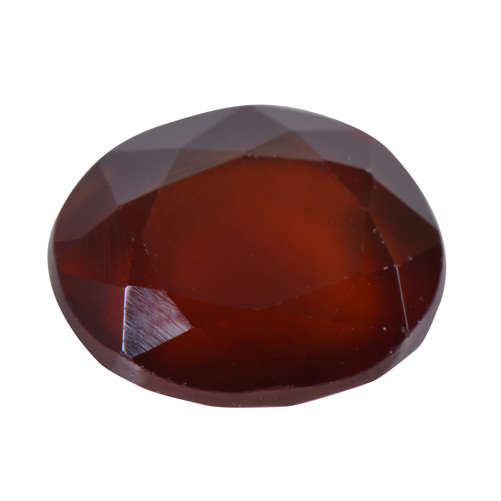 5.69 Ct Certified Natural Hessonite Garnet (Gomed) Loose Gemstone