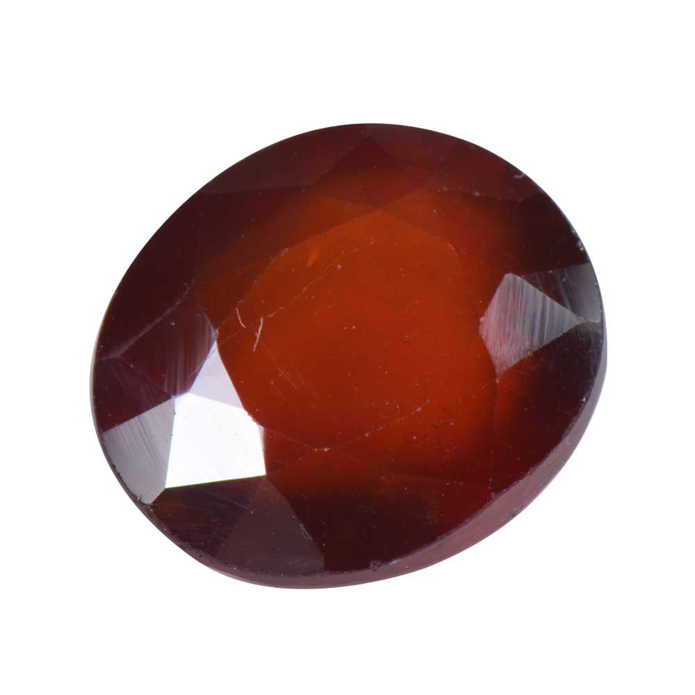 9.36 Ct Certified Natural Hessonite Garnet (Gomed) Loose Gemstone
