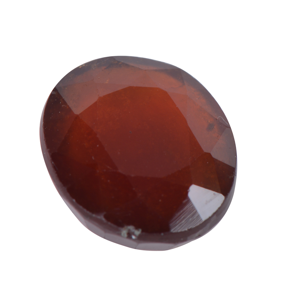 7.99 Ct Certified Natural Hessonite Garnet (Gomed) Loose Gemstone